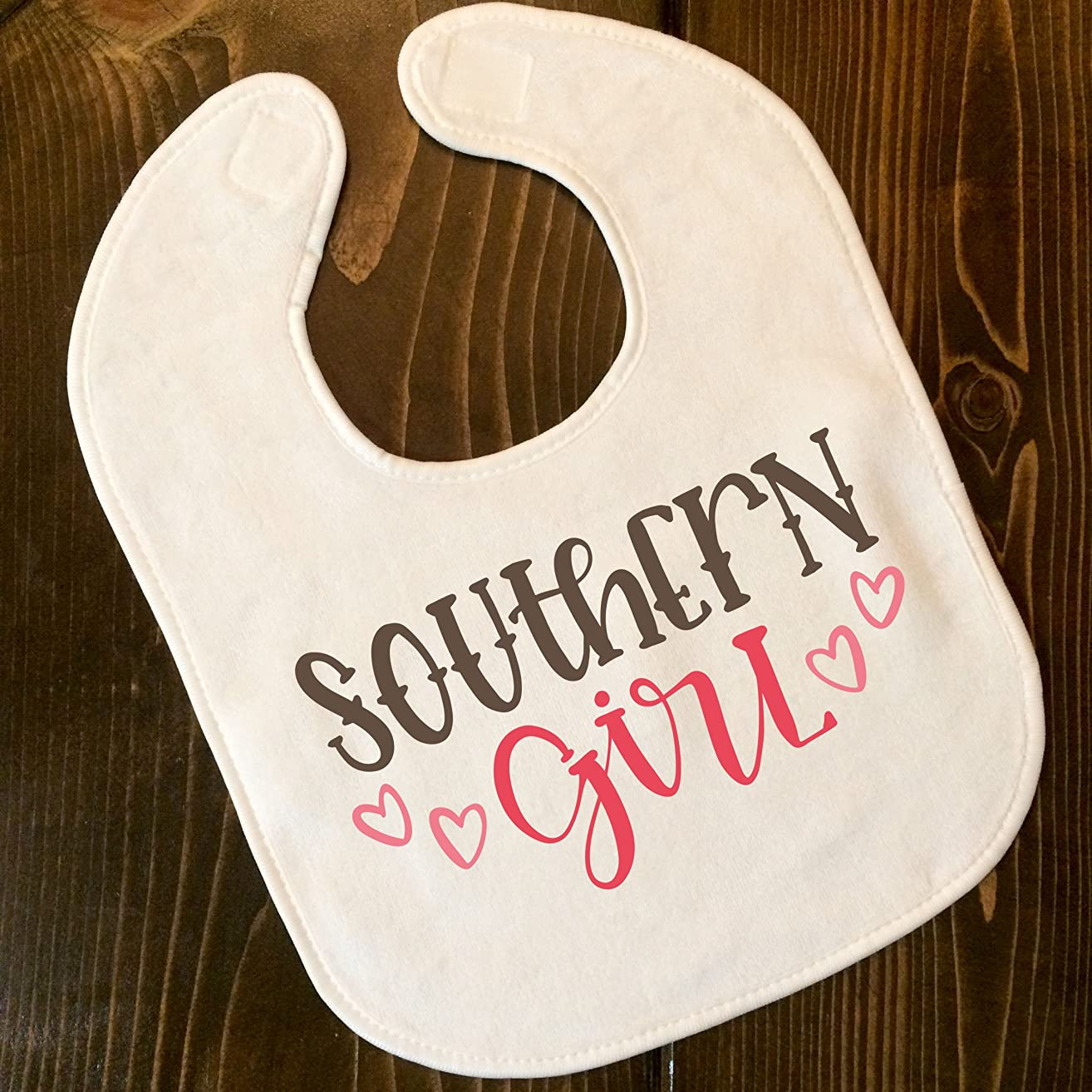 Southern Girl Baby Bib