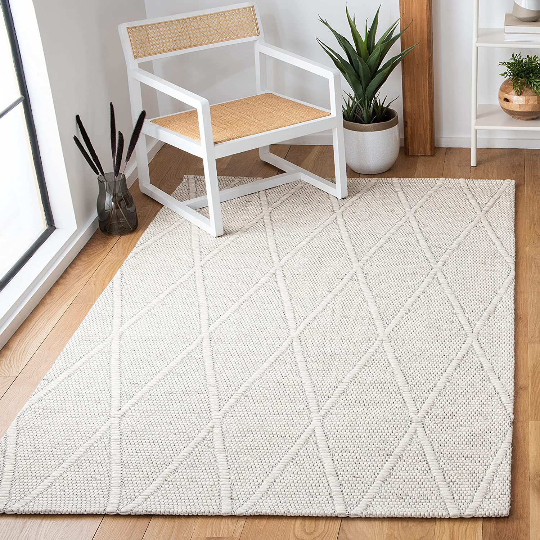 Safavieh Marbella Collection MRB524A Premium Area Wool Selling Overseas parallel import regular item Handmade