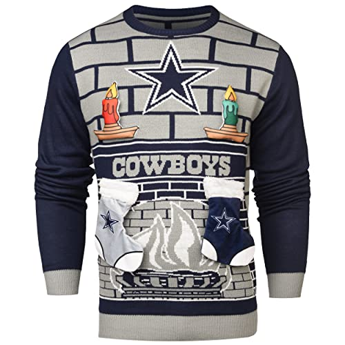 the best attitude 02304 705fa Dallas Cowboys Ugly Christmas Sweater: Amazon.com