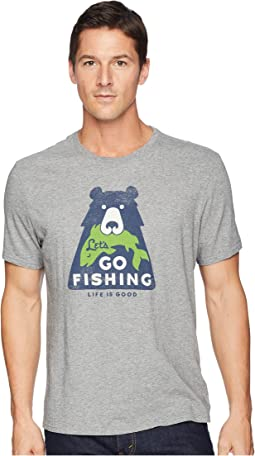 Let's Go Fishing Bear Smooth Tee