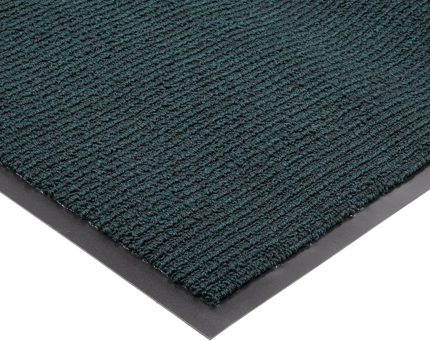 Notrax 132 Estes Entrance Mat, for Main Entranceways and Heavy Traffic Areas, 4' Width x 6' Length x 3 8  Thickness, Hunter Green
