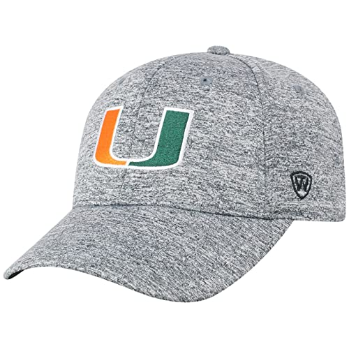 buy popular 29e7b c7b7d Top of the World NCAA Men s Hat Adjustable Steam Charcoal Icon