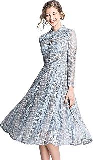 فستان كوكتيل من الدانتيل BEST-F-U للنساء، فساتين وصيفة الشرف أنيقة