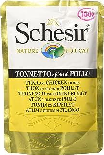 Schesir Cat Tuna with Chicken Pouch 100g