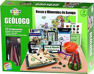 Cefa Toys- Equipo Profesional de Geólogo Stream, Multicolor, única (21833)