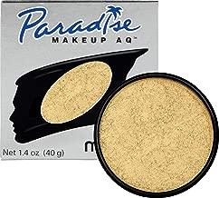 Mehron Makeup Paradise AQ Face & Body Paint (1.4 ounce) (Brillant Gold Dore)