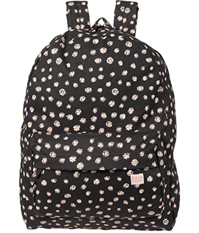 Billabong Kids Hand Over Love Backpack (Black/Pink) Backpack Bags