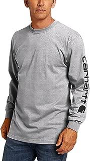 Men's Big & Tall Signature-Sleeve Logo Long-Sleeve T-Shirt