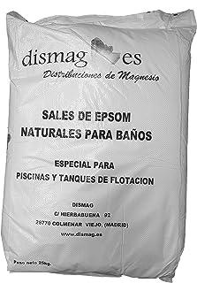 Sal de Epsom 25 Kg, Fuente concentrada de Magnesio, Sales