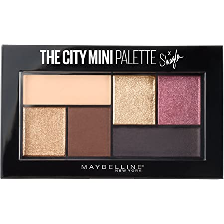 Maybelline New York Makeup The City Mini Eyeshadow Palette X Shayla, Shayla Eyeshadow Palette, 0.14 oz,1 Count (Pack of 1),SG_B073P5JYCD_US