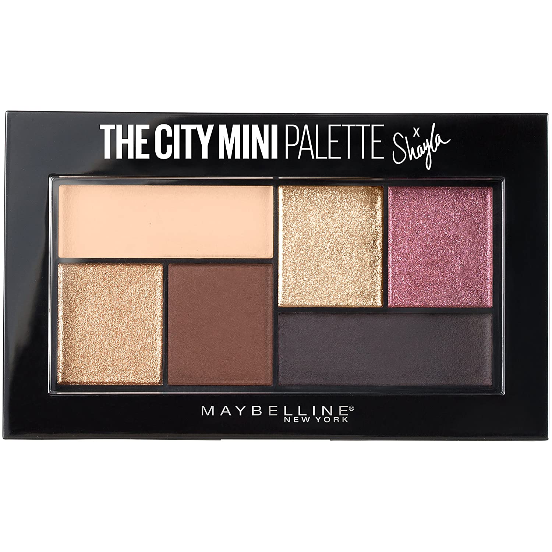 Maybelline Makeup The [Alternative dealer] City Mini Palette Shay X Discount is also underway Eyeshadow Shayla