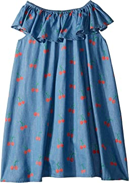 Cherry Chambray Dress Early (Toddler/Little Kids/Big Kids)