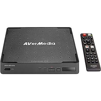 AVerMedia EZRecorder, HD Video Capture High Definition HDMI Recorder, PVR, DVR, Subscription Free, Schedule Recording, IR Blaster (ER310)