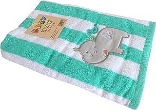 Unbekannt Großes Badetuch für Baby/Kinder ~ Nilpferd Hippo~ Handtuch Badetuch Strandtuch
