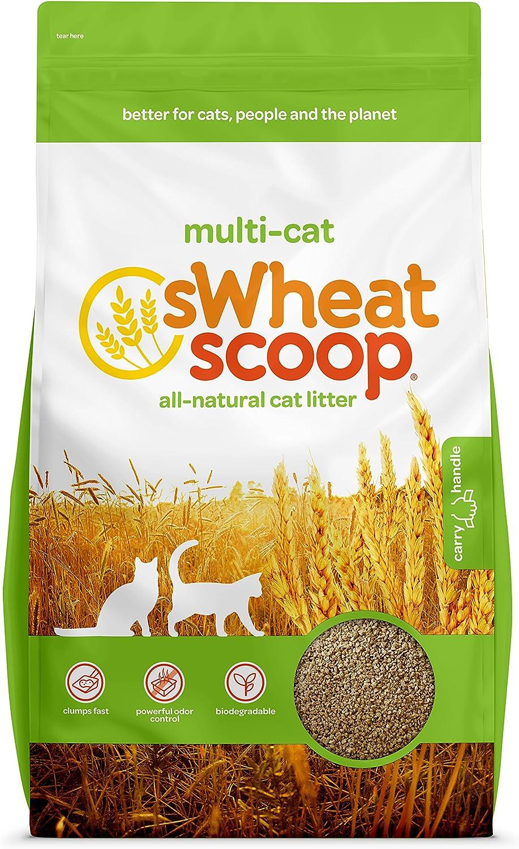 Sgoad Scoop Natural  mping Biodegradabile Gatto Multi Litter 7lbs
