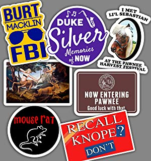 Best of Parks and Recreation Sticker Set **Water Proof Stickers**