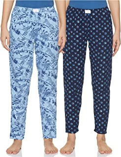 Diverse Women's Pyjama Bottom (Pack of 2) (DCWLPCMSC19L34-7_Multicolor_Small)