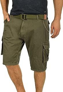 KEFITEVD Hommes Casual 3//4 Cargo Shorts Shorts Amples Taille /Élastique L/âche Multi Poches Shorts Coton Pantacourt