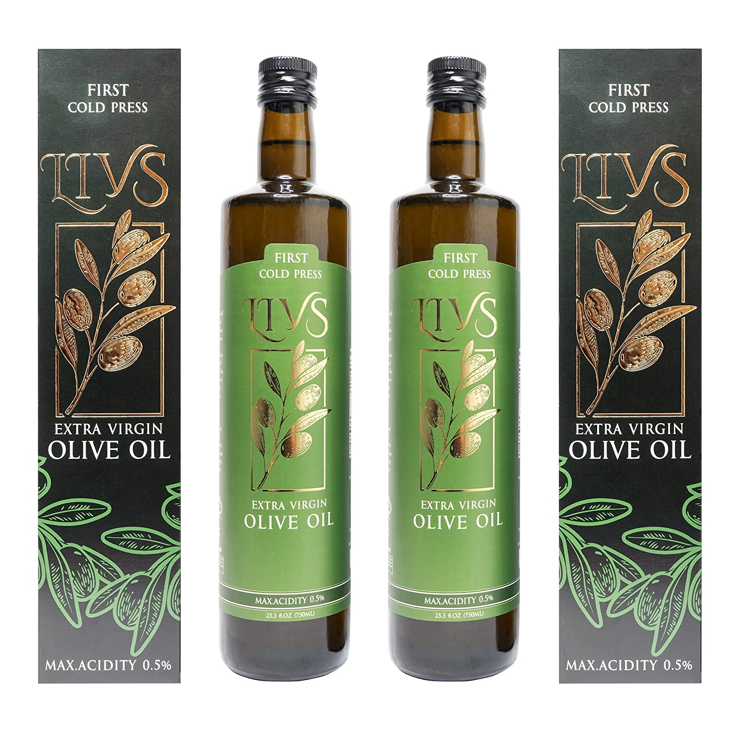 LIVS Olive Oil Extra - Presse High Ranking TOP2 quality Virgin Cold