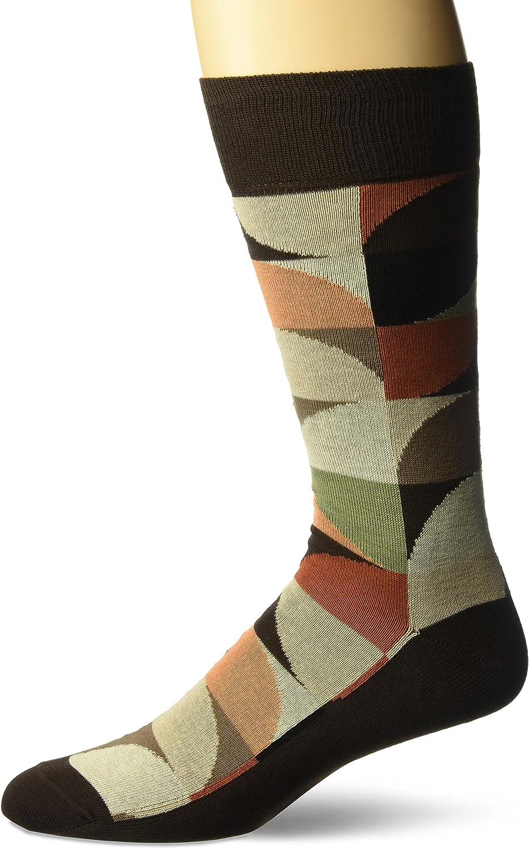 J.M. Dickens of London mens Squared Spots Dress Sock