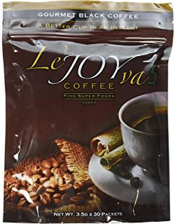 Le'JOYva Healthy Coffee with 4 Super Fruits from Joy To Live - A Scientifically Created Healthy Gourmet Black Coffee