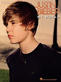 Justin Bieber - My World Songbook (Easy Piano)