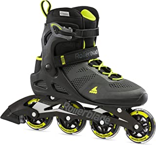 Rollerblade Macroblade 80 Men's Adult Fitness Inline Skate ، Black and Lime