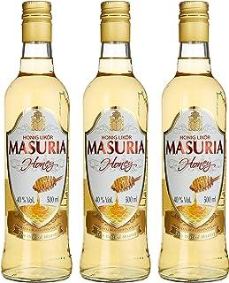 Mazurskie Miody Masuria Honig Wodka Liköre 3 x 0.5 l