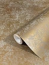 marburg behang goud uni vliesbehang modern, klassiek, weelderig voor slaapkamer, woonkamer of keuken 10,05m x 0,53m Gemaak...