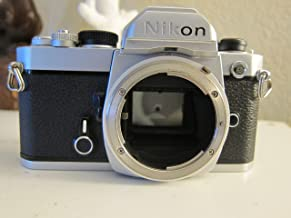Nikon FM chrome body SLR film camera