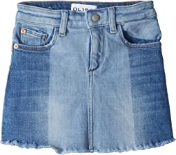 DL1961 Kids - Jenny Two-Toned Denim Skirt in Hollywood (Toddler/Little Kids)