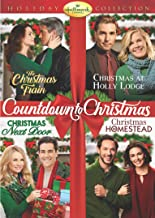 Hallmark 4-Movie Holiday Collection (Christmas Next Door / The Christmas Train / Christmas at Holly Lodge / Christmas in Homestead)