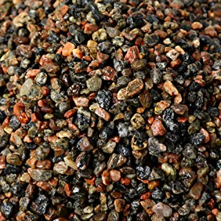 "1/4"" Granite Mini Pea Gravel, 5lb Bag - Decorative Natural granitic Gneiss Gravel for Aquariums, Landscaping, Vase Fillers, Plants, Fairy Gardens, Bonsai."