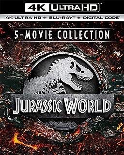 Jurassic World 5-Movie Collection 4K Ultra HD + Blu-ray + Digital