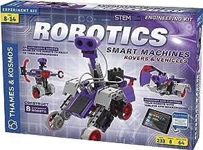 Thames & Kosmos | Robotics Smart Machines: Rovers & Vehicles | Kids 8+ | STEM Kit builds 8 Robots | Color Manual to help w...
