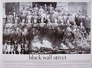 777 Tri-Seven Entertainment Black Wall Street Poster, 24x18