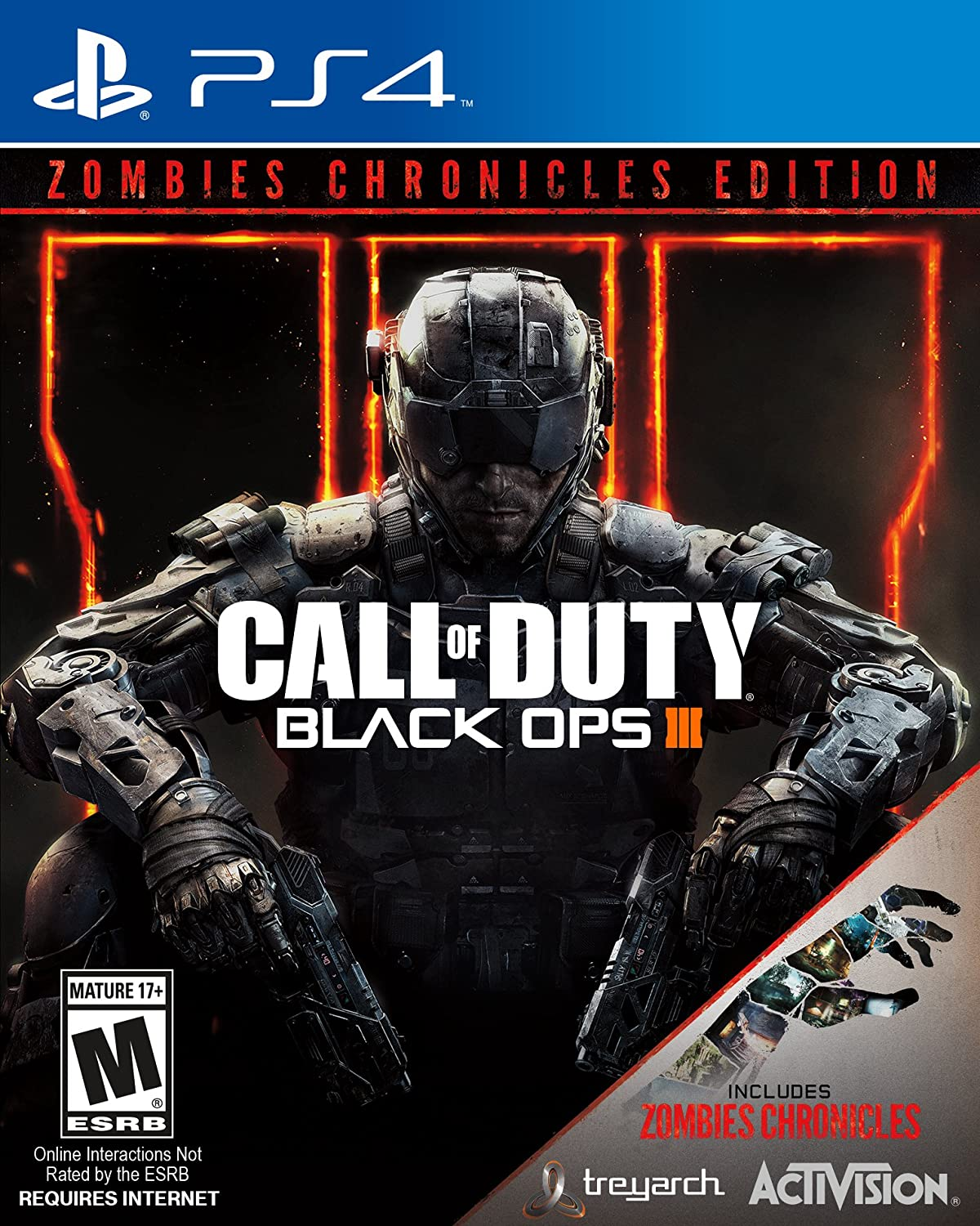 Call of Duty Black Ops III Chronicles Factory outlet - Philadelphia Mall PlayStation Zombie 4