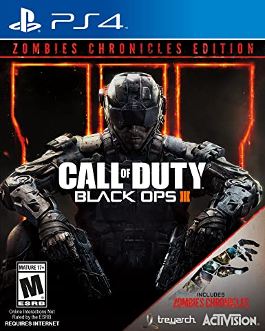 Call Of Duty Black Ops Iii Zombie Chronicles Xbox One Activision Inc Video Games
