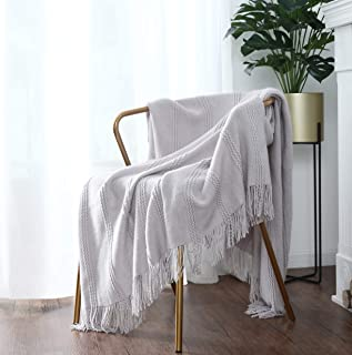 Best loose knit throw blanket Reviews