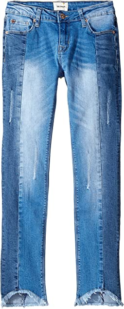 Pieced Splice Jeans in Peace (Big Kids)