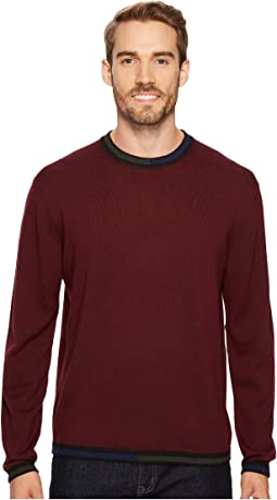 Robert Graham - Cooperstown Long Sleeve Sweater Crew Neck