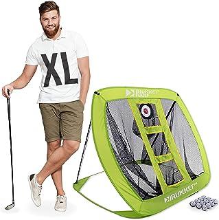 Rukket XL Golf Chipping Net   Outdoor/Indoor Golfing Practice Target Nets   Backyard Ball Hitting Games for Men, Women and Kids