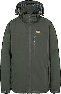 Trespass Men's Weir Waterproof Rain Jacket With Concealed Hood