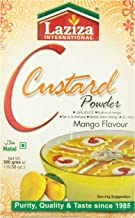 Laziza Mango Custard Powder, 300-Gram Boxes (Pack of 6)
