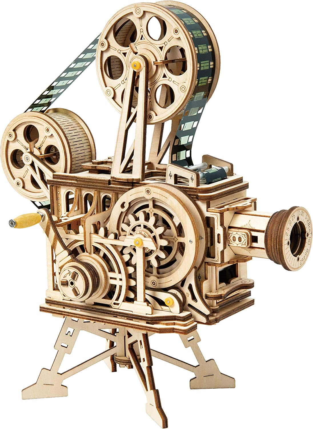 Rowood 3D Wooden Puzzle Ranking TOP7 Toy for OFFicial Projector Handheld Adults Film