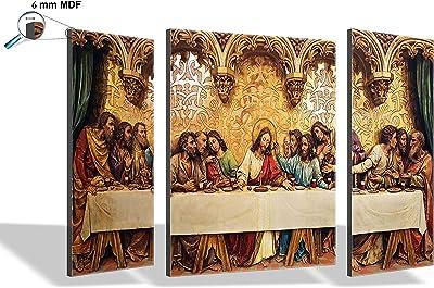 SAF 6MM Jesus Set of 3 Panel Painting(SANFJM1277) SAFJM1277