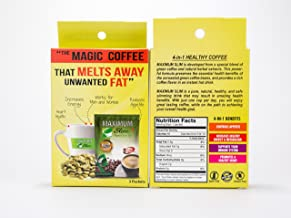 The Healthy 4-in-1 ORGANIC Green Coffee that BOOST Metabolism & DETOX your body. Healthy Weight Loss, ENERGY BOOST & FAT BURNER in 1 cup a day- Sample Pack