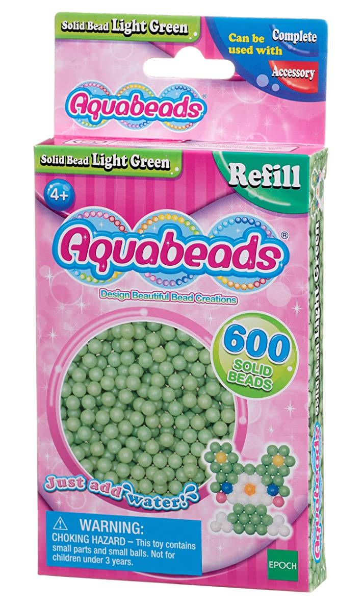 Aquabeads 32538 Solid Bead Pack - Light Green