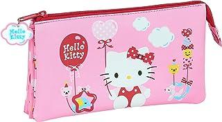 Portatodo Triple de Hello Kitty Balloon, 220x30x120mm