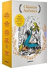 Caixa Clássicos Autêntica - Vol. 3: Alice no país das maravilhas; Alice através do espelho; Volta ao mundo em 80 dias; As mais belas histórias vol. 1; Mágico de Oz